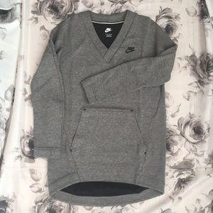 Nike V-neck Pullover Sweatshirt